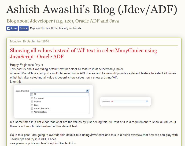 Pin by Ashish Awasthi on Ashish Awasthi's Blog (Jdev/ADF) | Blog
