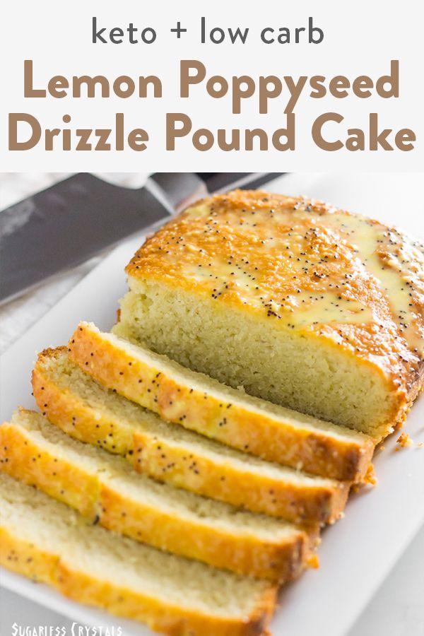 Lemon Keto Pound Cake Low Carb Sugar Free Gluten Free Recipe