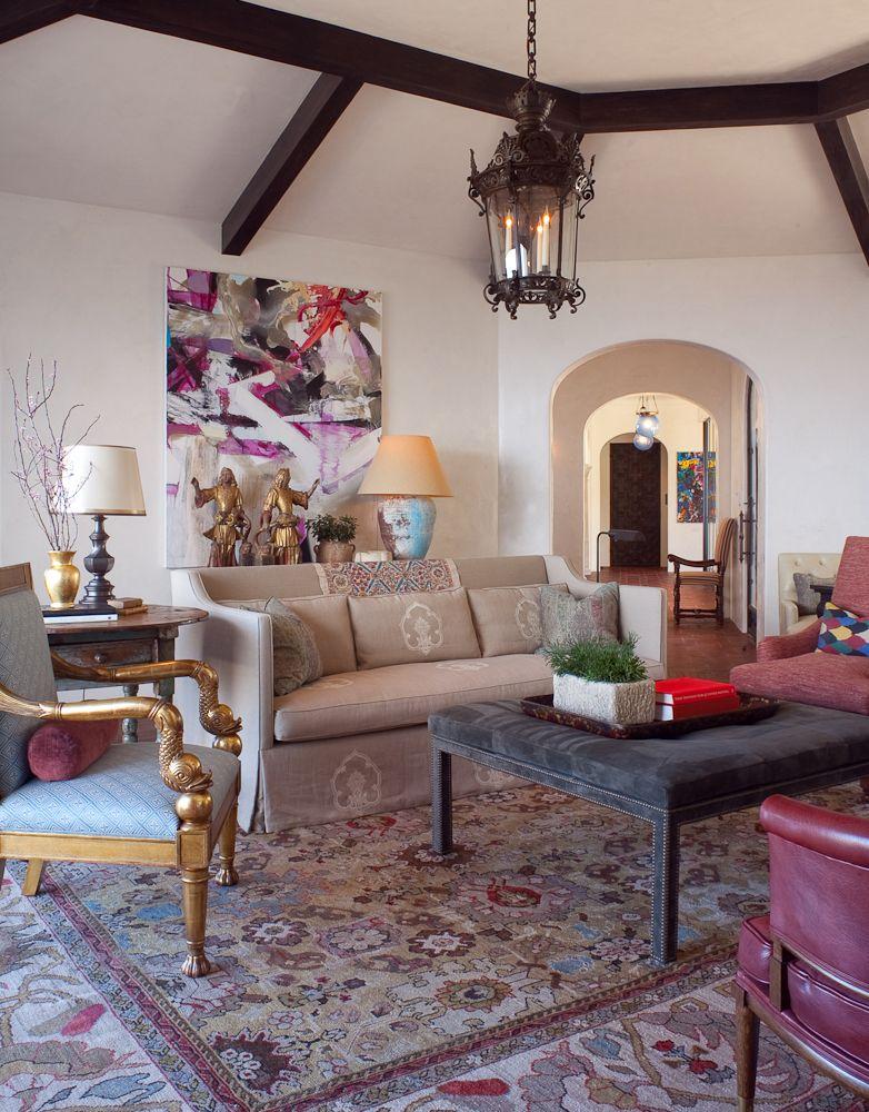 Living Room designed by Jeffrey Alan Marks