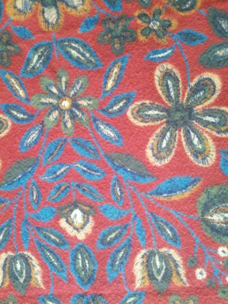 Boho Hippie Table Scarf,couch Throw, Fabric In Collectibles,