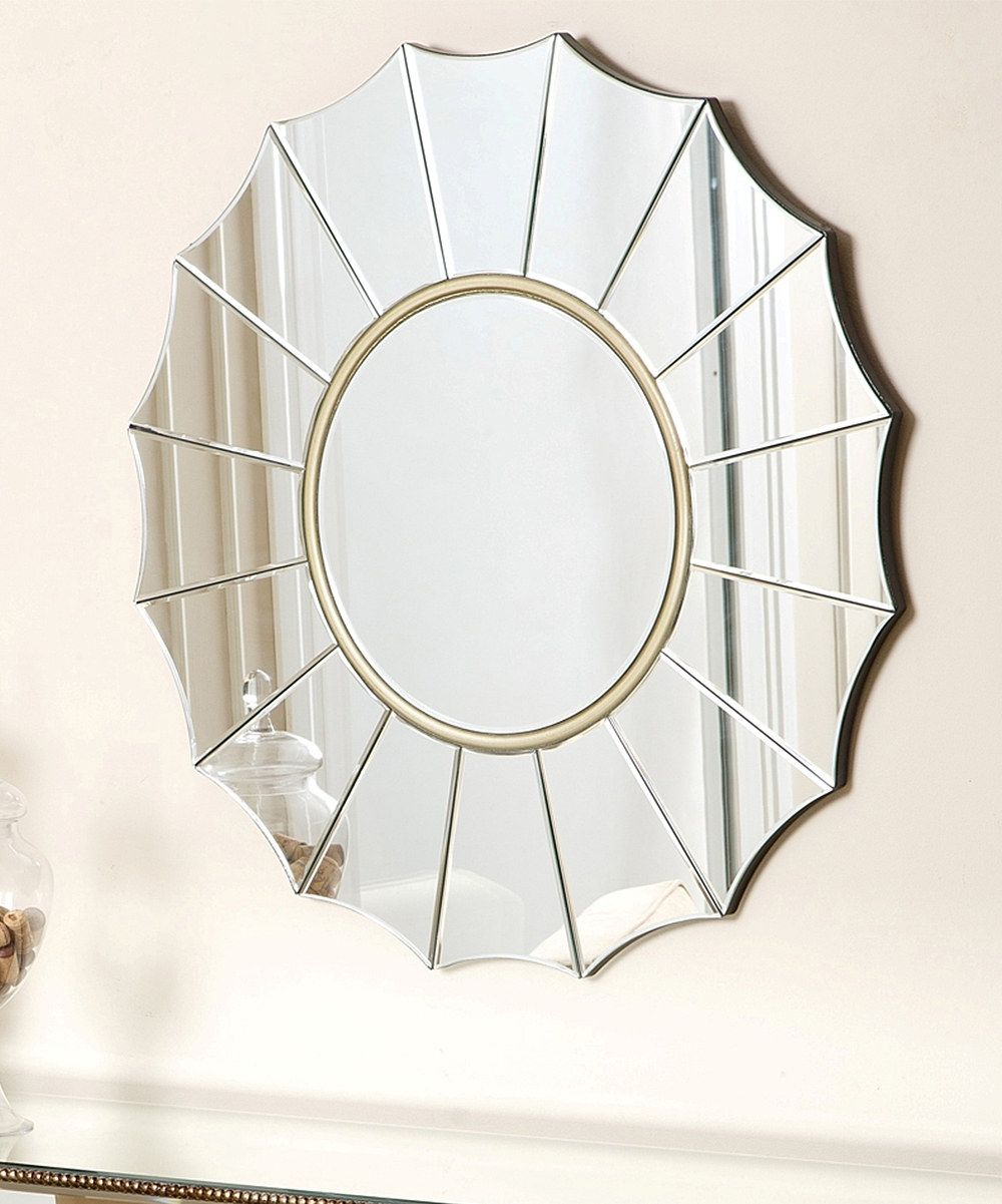 Look at this Wyndham Round Wall Mirror on #zulily today!
