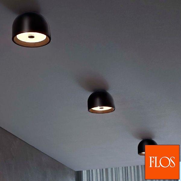 Eine Unaufdringliche Deckenleuchte Die Auch Als Wandleuchte Genutzt Werden Kann Im Italienischen Design Von Flos Lampen Und Leuchten Leuchten Wand
