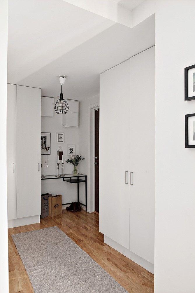 Consola de ikea muebles blancos pared y techos deco recibidor - Ikea muebles blancos ...
