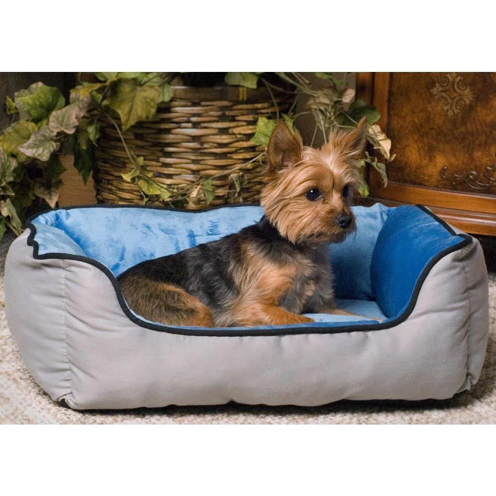 K H Self Warming Lounge Sleeper Dog Bed In 2021 Dog Beds For Small Dogs Rectangular Dog Bed Dog Bed