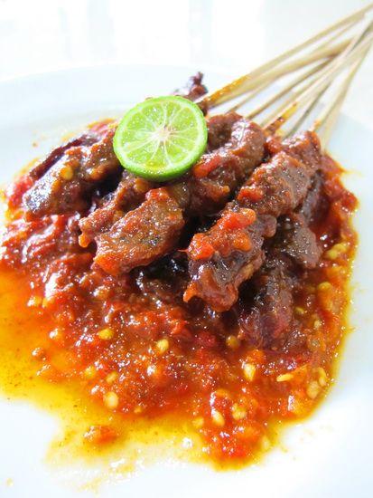 Resep Sate Plecing Dan Cara Membuat Bacaresepdulu Com Resep Resep Makan Malam Makanan Pedas