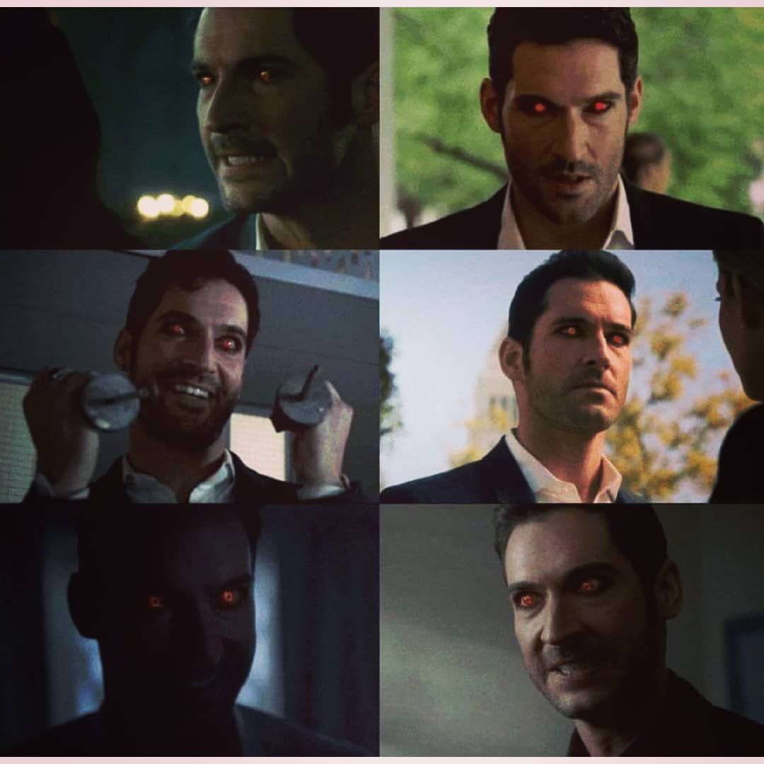 Lucifer Morningstar On Instagram Look This Red Eye