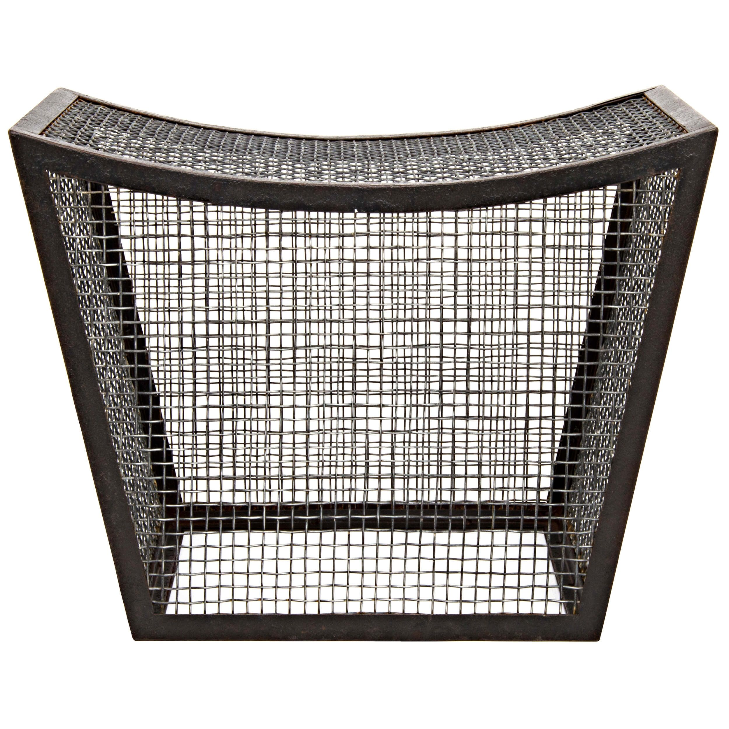 Fine Cage Stool House Colors And Ideas Metal Stool Stool Gmtry Best Dining Table And Chair Ideas Images Gmtryco