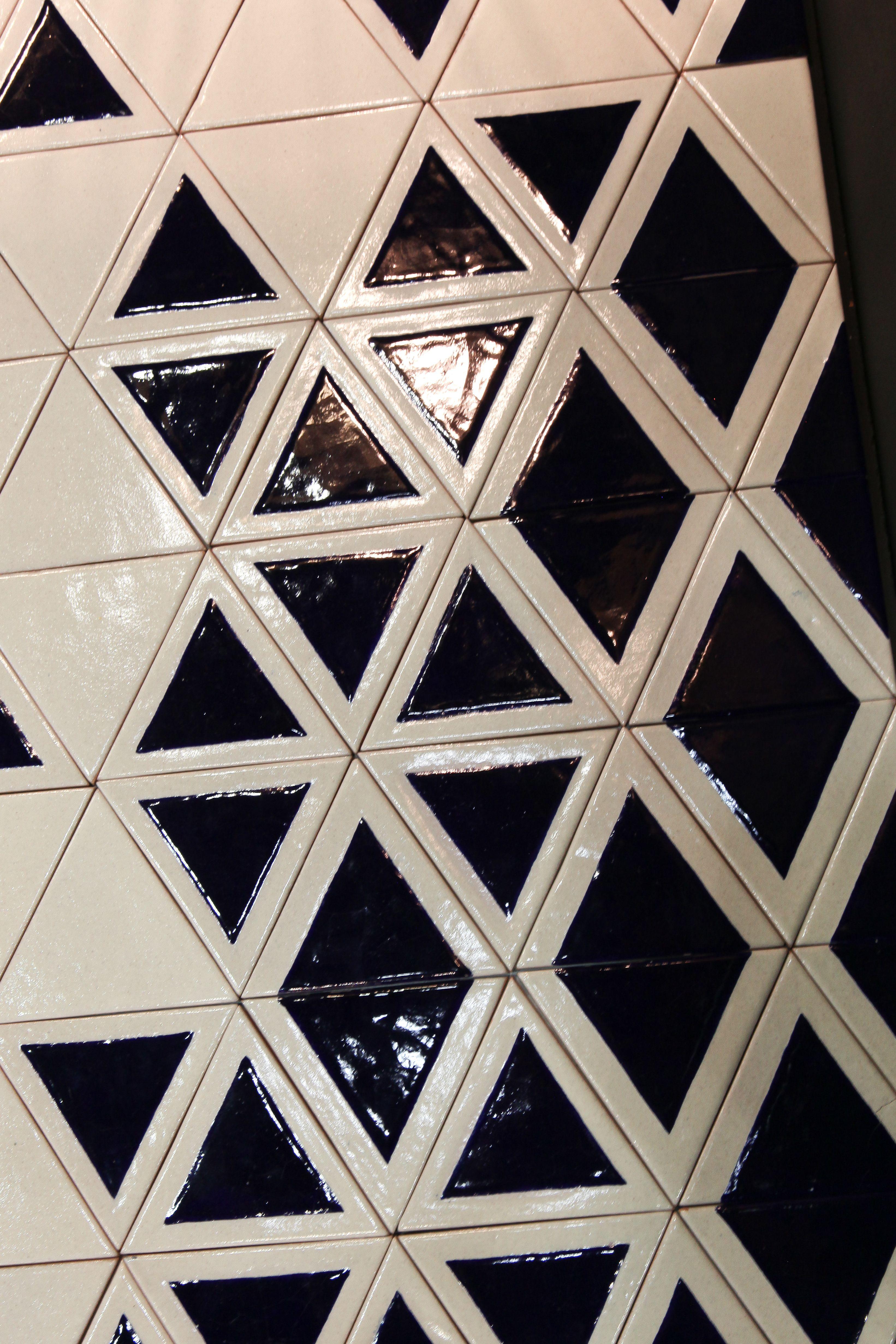 Triangle Tiles Uriarte Talavera Pottery Handmade And  # Muebles Uriarte