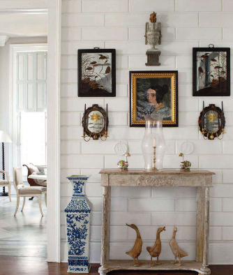 Ducks Are Great On Mantel Or Like Here Southern Gothic Home Furlow Gatewood Design Veranda