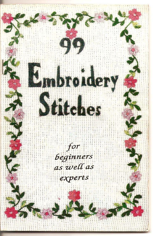 20 Embroidery Stitches   Embroidery stitches, Embroidery patterns ...