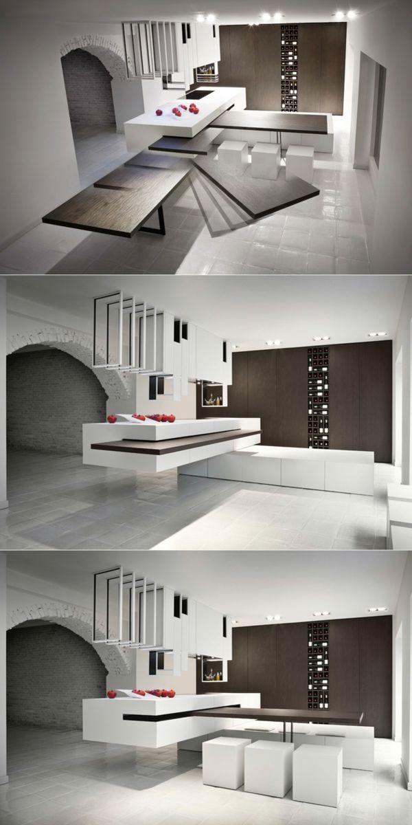 arbeitsplatten für küchen tolle kücheninsel moderne küche - arbeitsplatte küche verbinden