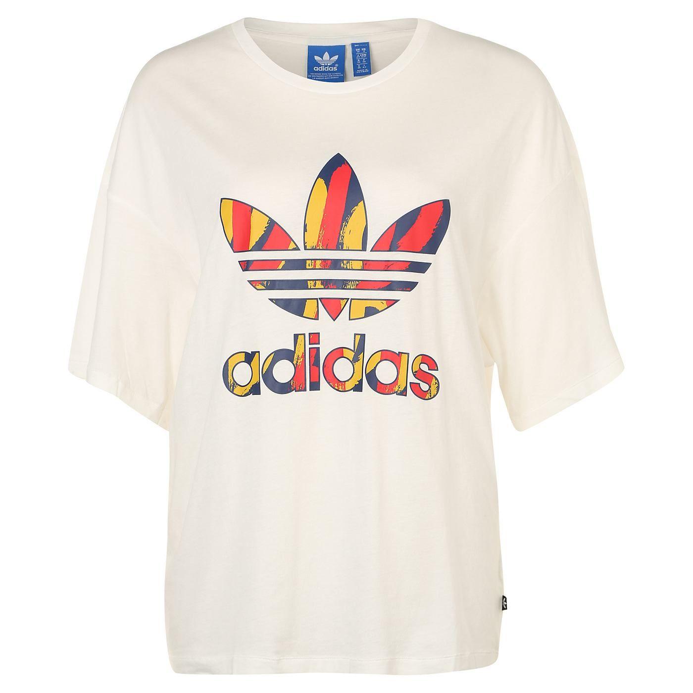 Adidas Originals Paris Trefoil Logo T Shirt Damen Otto Hemd Adidas Originals T Shirt Damen