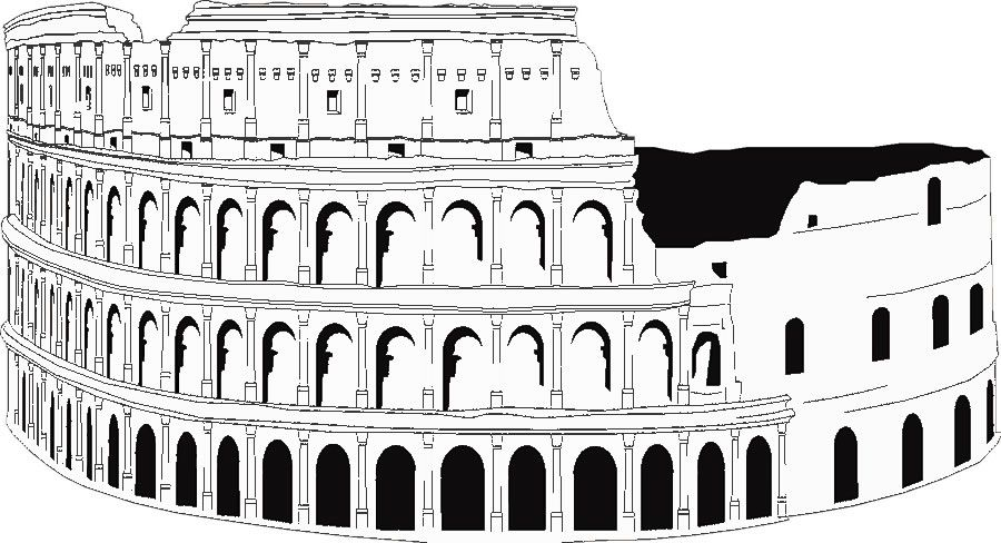 Rome The Colosseum Coloring Pages Color Adult Coloring Pages