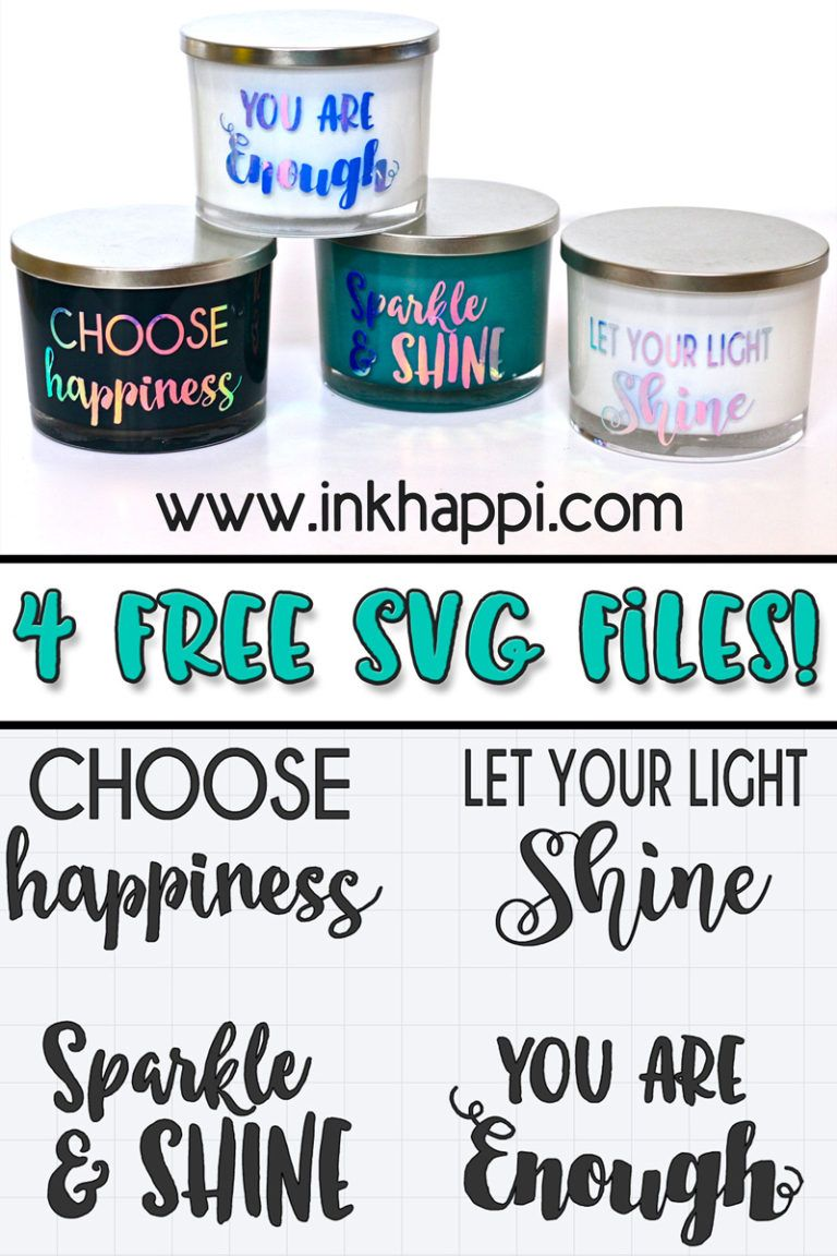 Vinyl sayings on glass candles using Cricut    You will fall