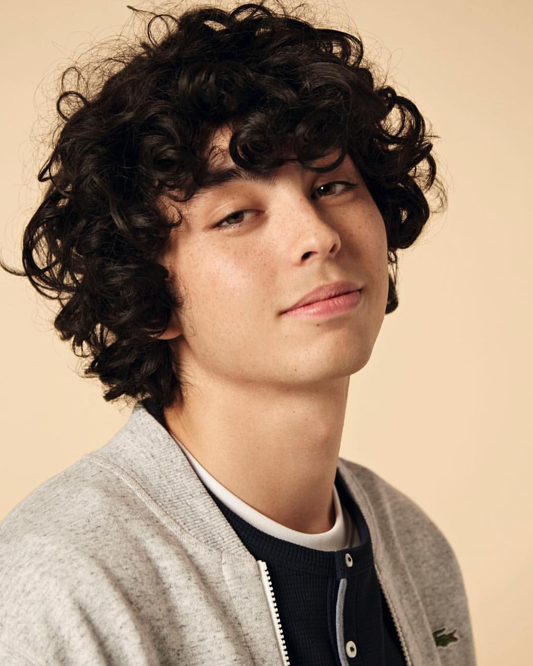 5 817 Likes 14 Comments Lacoste Lacoste On Instagram Fridays With The Lacoste Live Topspin Collecti Curly Hair Styles Long Hair Styles Men Hair Styles