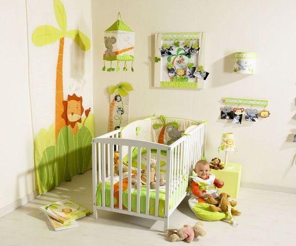 exemple déco chambre bébé garçon pas cher