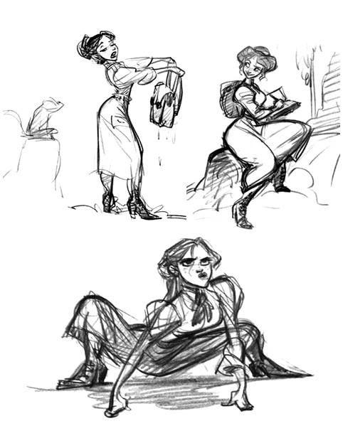 Tarzan concept art