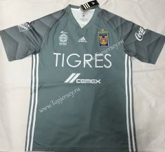 dc6290789 2018-19 Tigres UANL Gray -912 Thailand Soccer Jersey AAA
