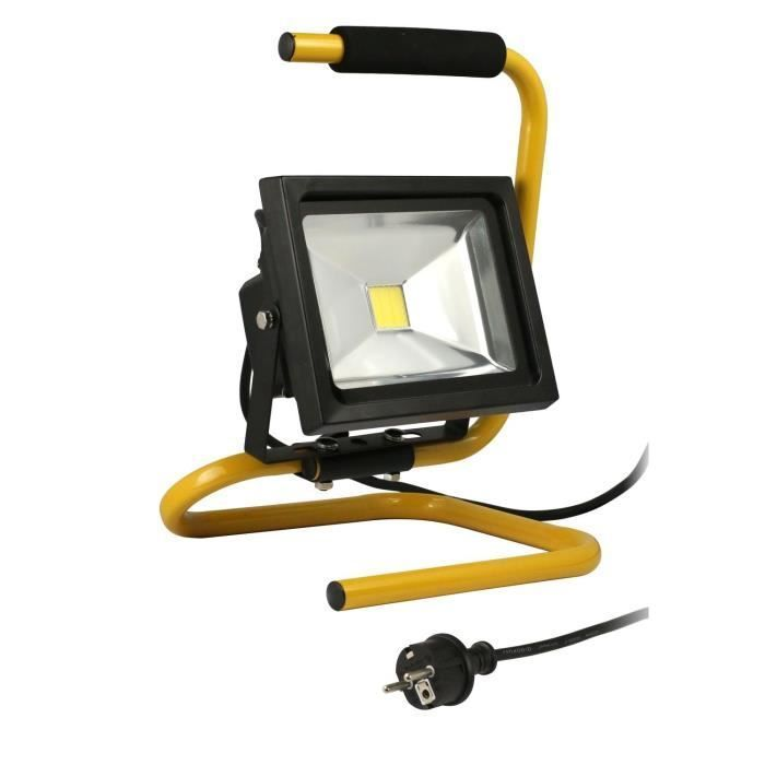 Projecteur De Chantier Led 20w Portable Câble Products