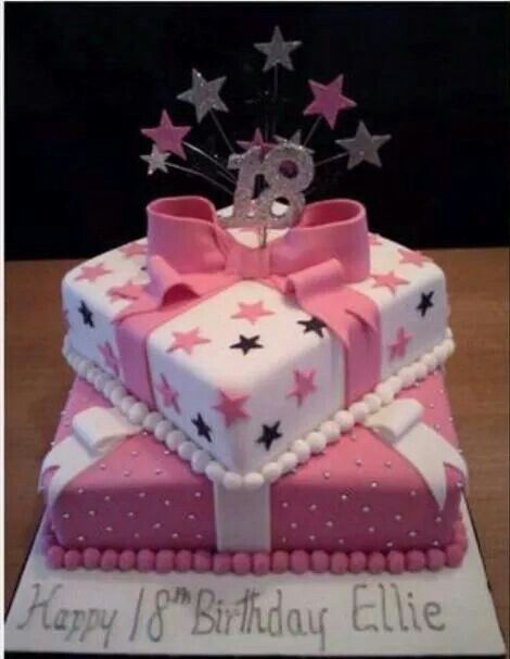 Discover Ideas About 18th Birthday Cake For Girls