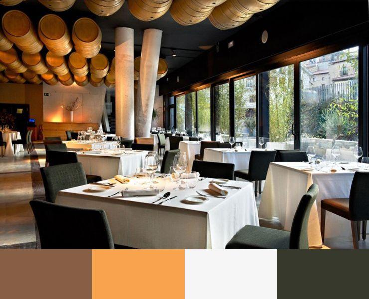 30 restaurant interior design color schemes design build ideas - Restaurant Interior Design Ideas