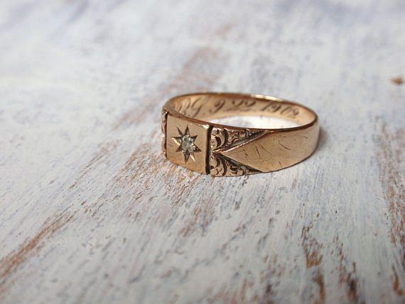 Star Ring Solid Gold Star Ring Silver Star Ring Dainty Gold Etsy Silver Rings Silver Stars Gold Stars