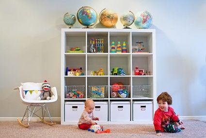 Tips para mantener el orden en dormitorios infantiles for Ikea juguetes infantiles