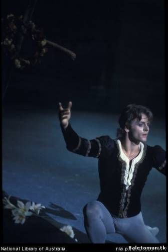 Mikhail Baryshnikov in 'Giselle'. Australia, 1975