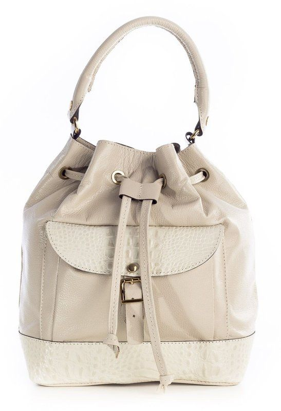 c5162aeef1ee2 Bolsa saco feminina de couro  bolsafeminina  bolsa  bolsademulher  couro