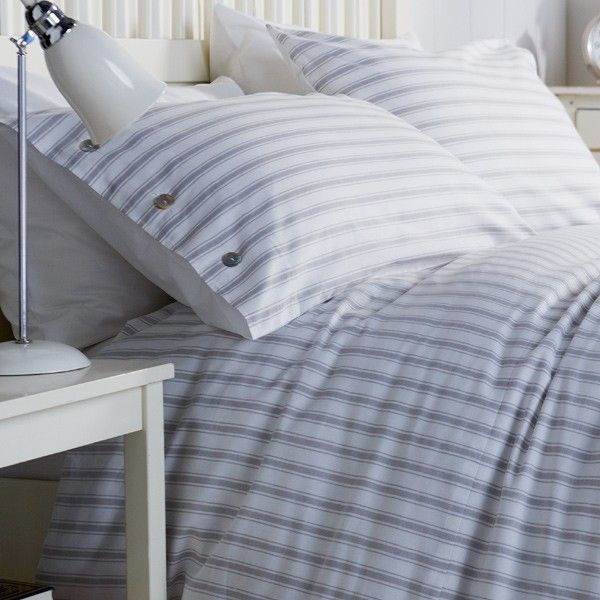 product white ribbed duvet bedspreads cm covers cover stripes en striped ottomania