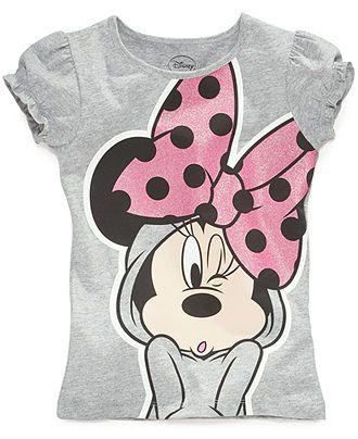 5c3768e543 Disney Kids T-Shirts, Little Girls Minnie Mouse Graphic Tees - Kids Girls  2-6X - Macy's