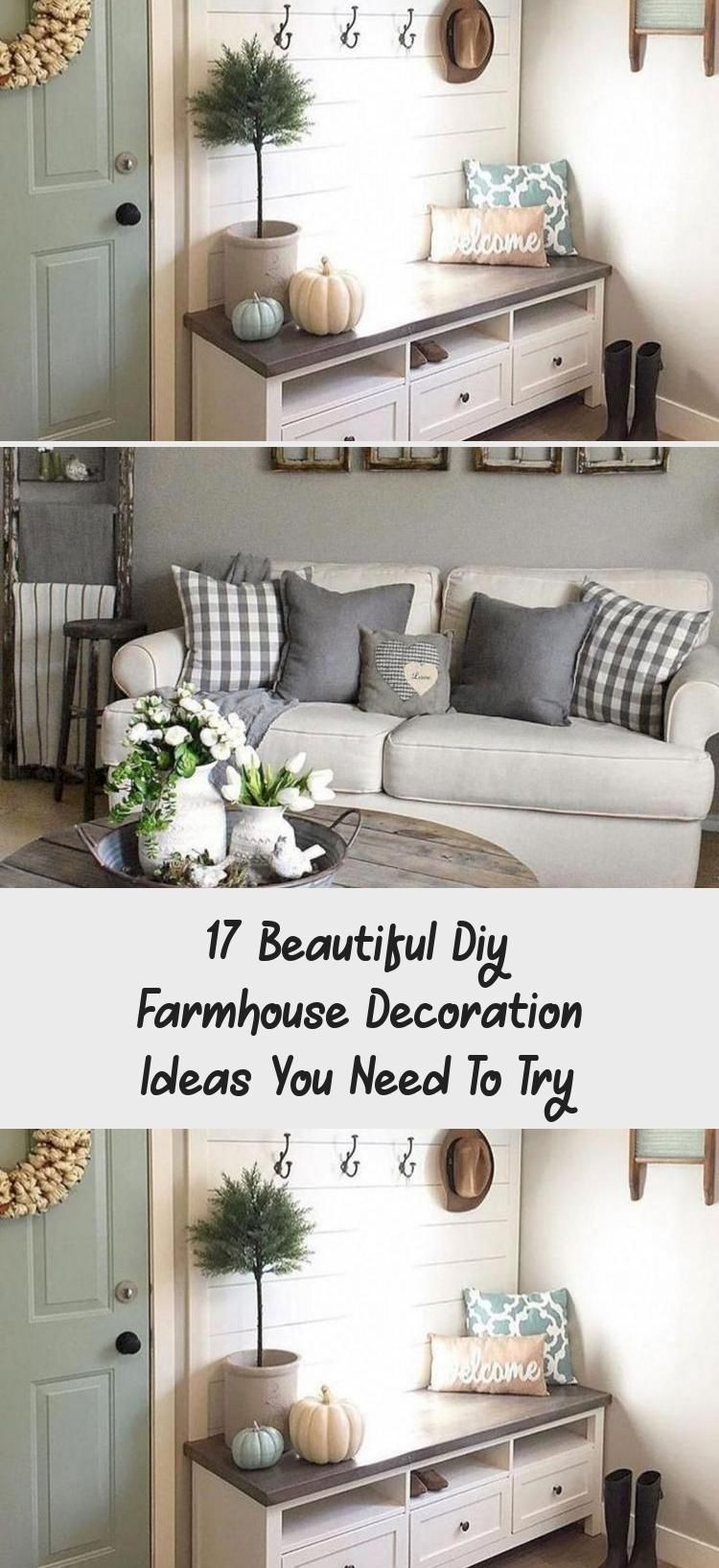 17 Beautiful Diy Farmhouse Decoration Ideas You Need To Try In 2020 With Images Farmhouse Diy Diy Farmhouse Decor Kitchen Decor