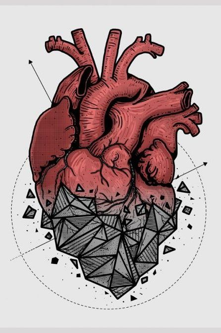 heart tattoo idea