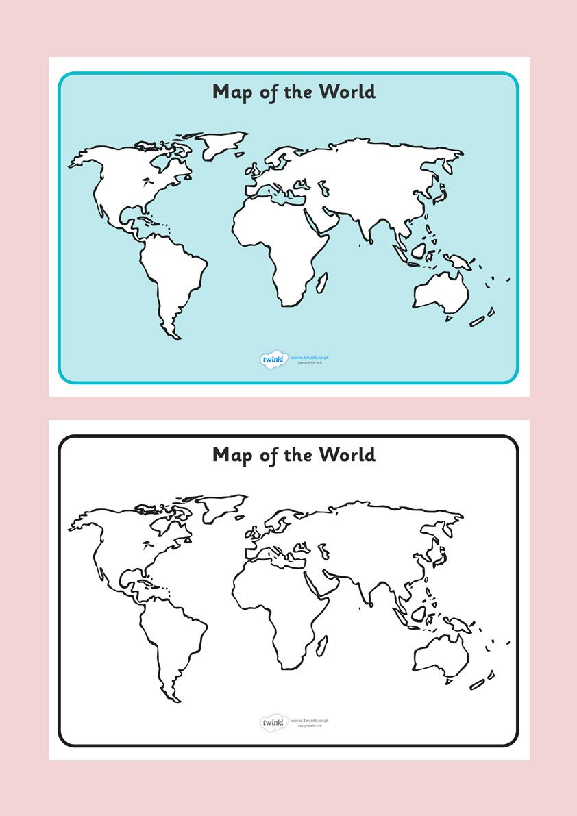Map of the world sheet free printable ks2 free download social map of the world reference sheet gumiabroncs Choice Image