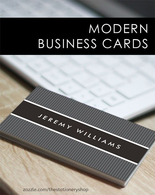 Modern dark gray and black professional profile business card – Professional Business Profile