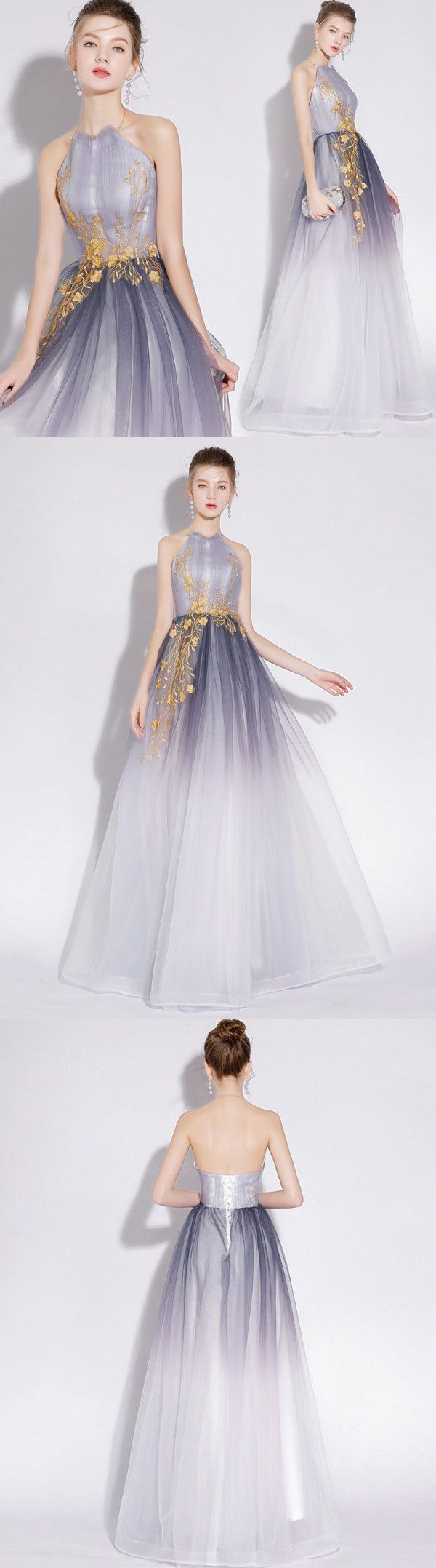 a line prom dress cheap long tulle prom dress vb elegant
