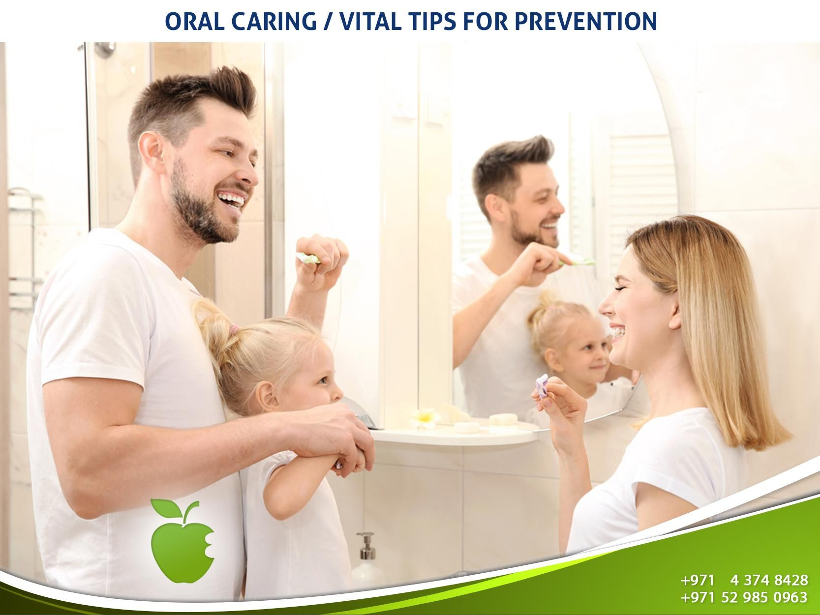 Keep your teeth and gums clean& healthy to prevent gum