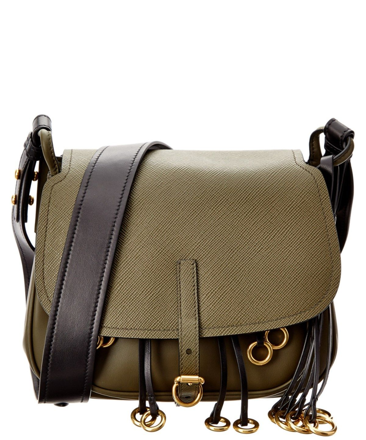 a232d9e6cb19 PRADA PRADA CORSAIRE CALF LEATHER SHOULDER BAG'. #prada #bags #shoulder bags  #leather #lining #