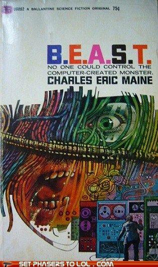 WTF Sci-Fi Book Covers: B.E.A.S.T.