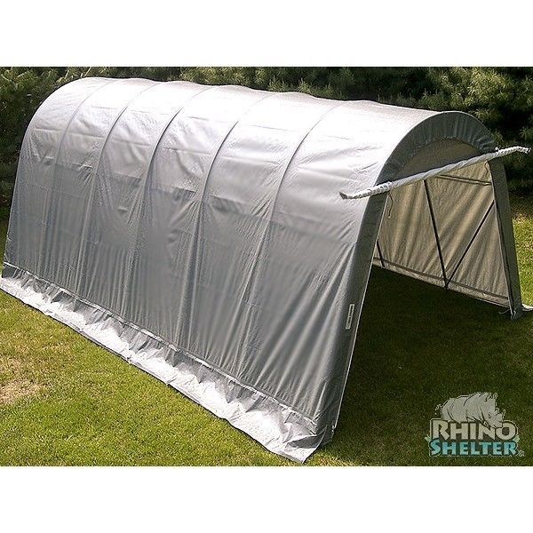 Metal Pool Shelters : Portable garage carport canopy rhino shelters instant