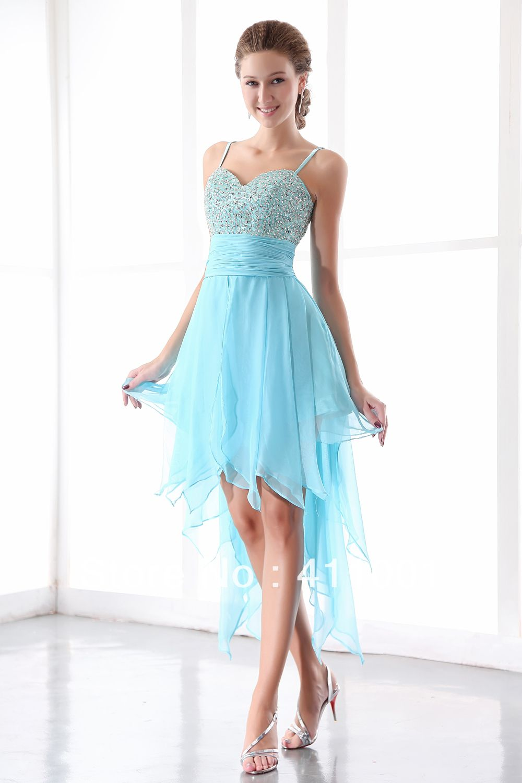 Único Azul Hielo Vestidos De Damas De Honor Ideas Ornamento ...