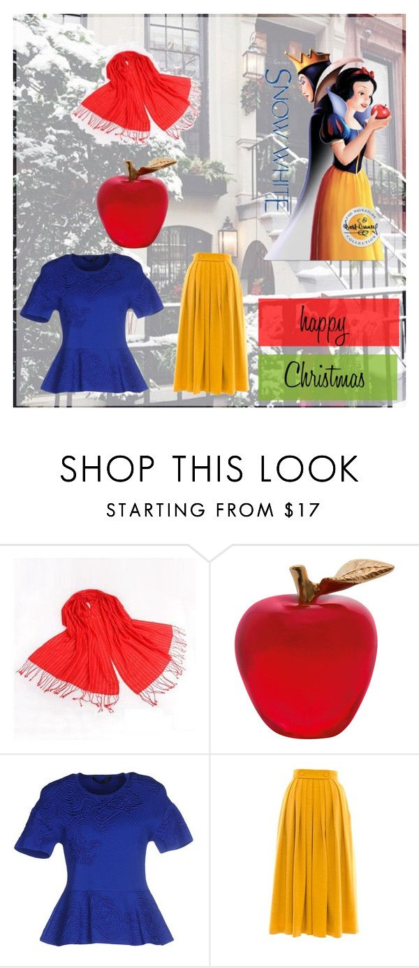"""SnowWhite"" by jasmina-749 ❤ liked on Polyvore featuring RGLT Scarves, Daum, Roberto Cavalli, Victor Xenia, women's clothing, women, female, woman, misses and juniors"