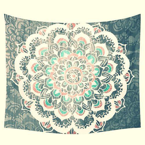 Bohemian Mandala Tapestry ~Moroccan Indian Print ~150X150Cm