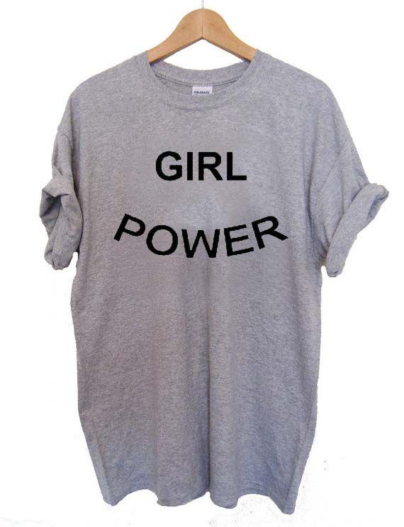 girl power font T Shirt Size XS,S,M,L,XL,2XL,3XL