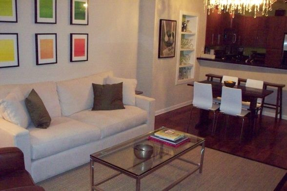 Living Dining Area Condo Combo Small Apartment Living Room Apartment Living Room Living Room Dining Room Combo
