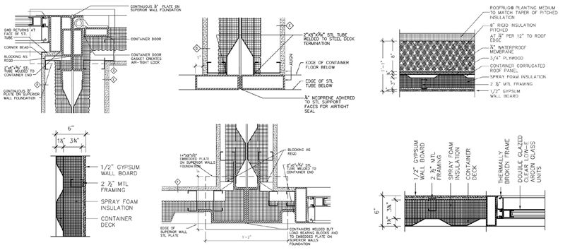 shipping container home design cad. Shipping Container Home  RSCP Detail examples DEVELOP YOUR DESIGN TO A LEVEL OF DETAIL NECESSARY WORK OUT