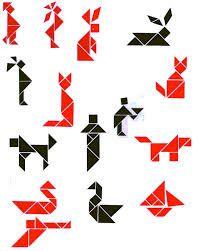 tangram figuren search patterns figur
