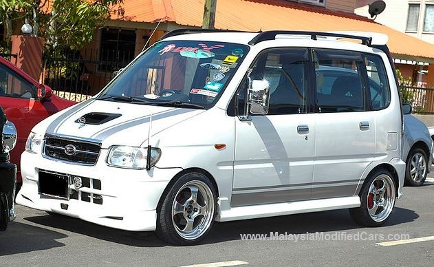 Modified Perodua Kenari Conversion To Daihatsu Move Wagon R