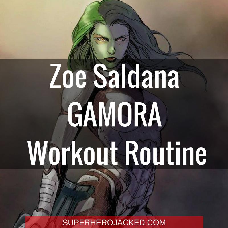 Zoe Saldana Workout Routine And Diet Plan Train Like Gamora Zoe Saldana Celebrity Workout Superhero Workout
