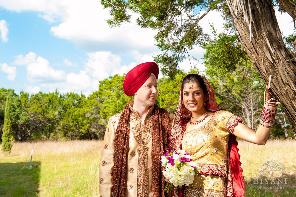 American Indian Traditional Wedding Fotos Punjabi Ceremony Austin Gurdwara Sahib Tx